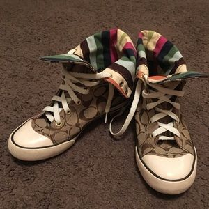 Coach High-Top Sneakers
